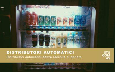 Distributori automatici senza raccolta di denaro